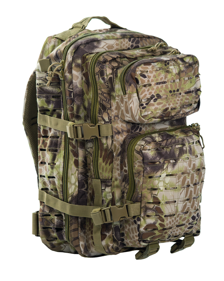 US Assault pack Laser 36L mandra tan