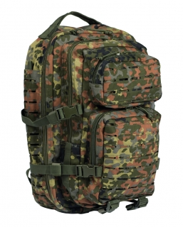 US Assault pack 36Laser L flecktarn