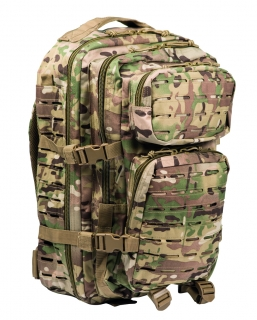 US Assault pack Laser 36L multitarn