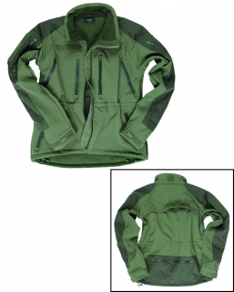Bunda Softshell Plus oliv