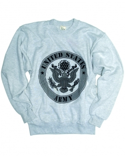 Mikina US Army grey
