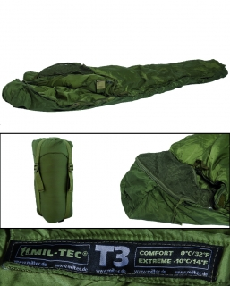 Spací pytel Tactical T3 oliv